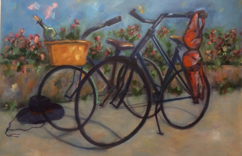 Afternoon Delight - 2'x3' - oil on canvas - SOLD