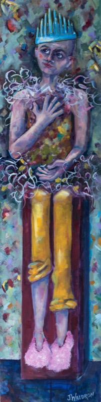 Enchanted - 12x48 - oil on canvas