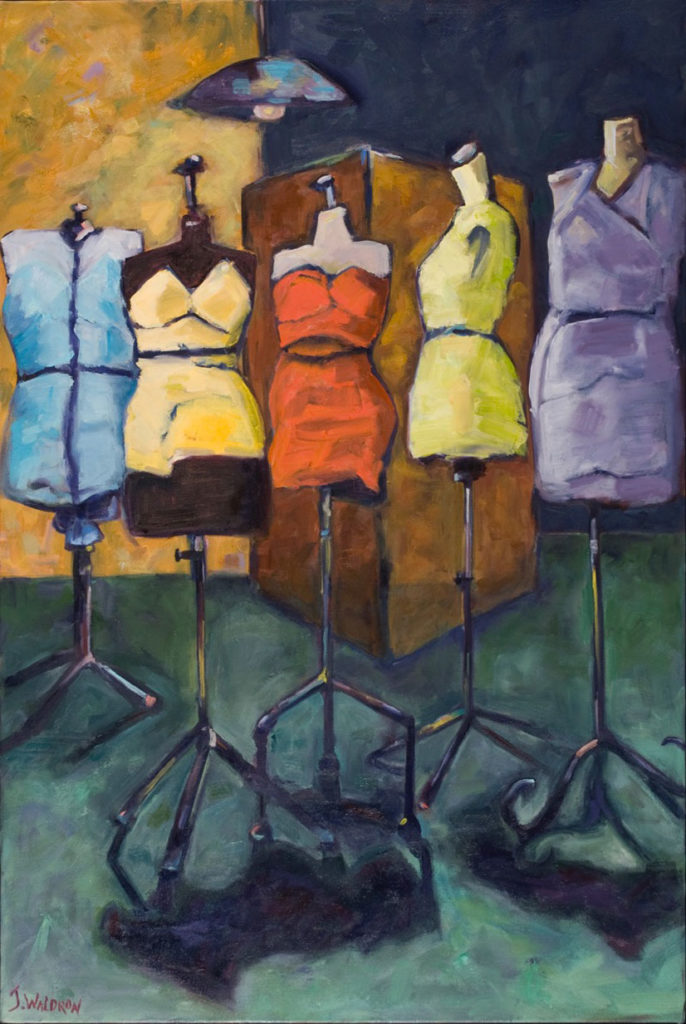 Fit to Form - 3'x5' - oil on canvas - Currently on Exhibit at Elanden Gardens