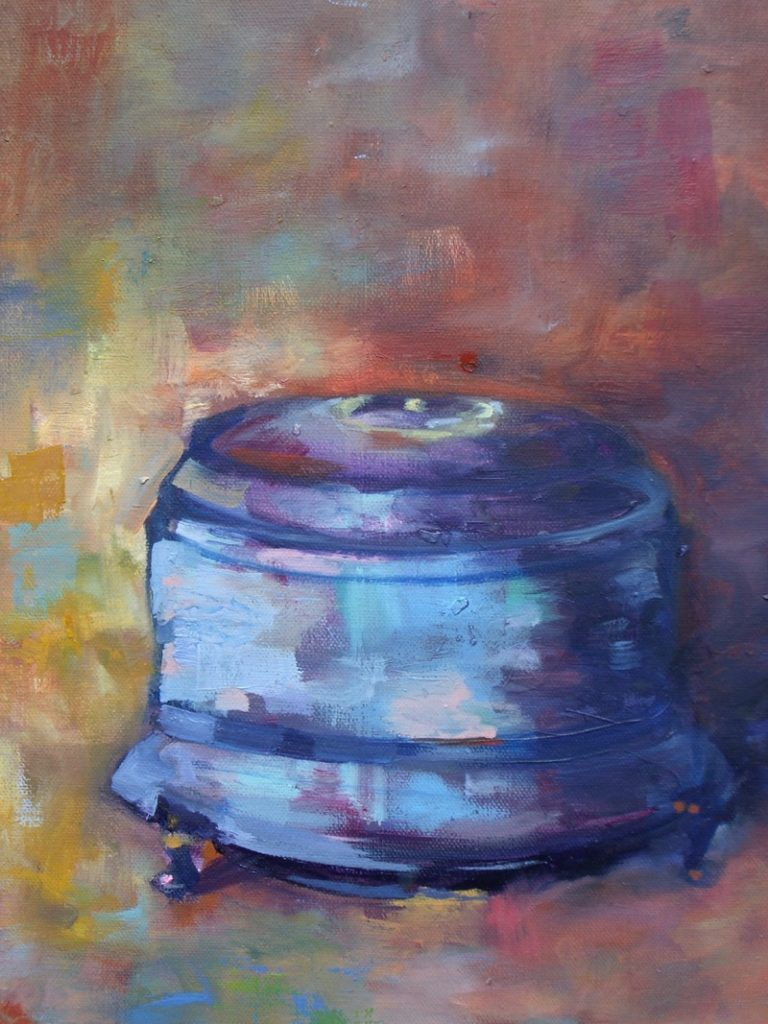 Mother's Music Box - 16x20 - oil on canvas - SOLD