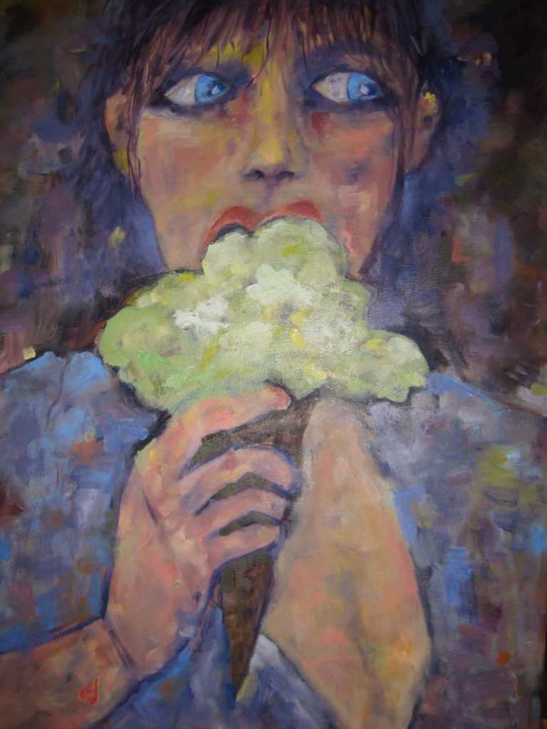 All Mine - 24x30 - oil on canvas - SOLD