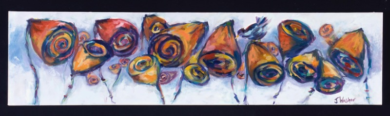 Conversation - 2'x3' - oil on canvas - SOLD
