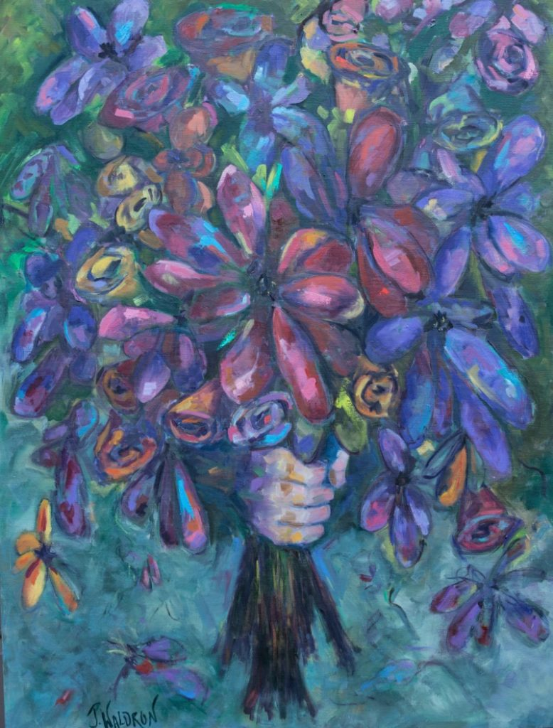 For You - 30x40 - oil on canvas - SOLD