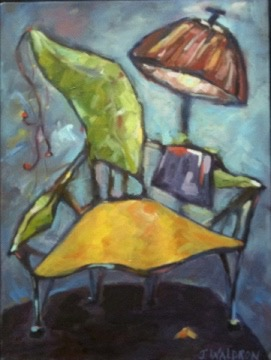 Wacky Chair - 8x10 - oil on canvas - SOLD
